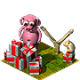 Quittung der Spendenschwein-Einnahmen