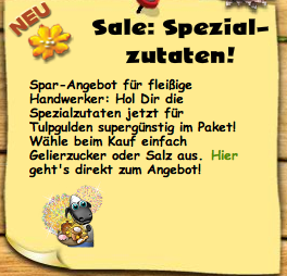 Sale: Spezialzutaten