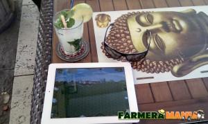 Farmarama App im Einsatz