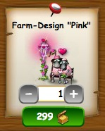 Pinke Farm im Farmerama Shop