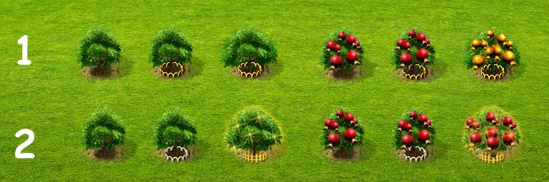 Neuer Look für die Bäume?