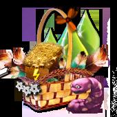gummiwurm-korb
